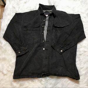 Jackets & Blazers - Oversized plus size denim jacket